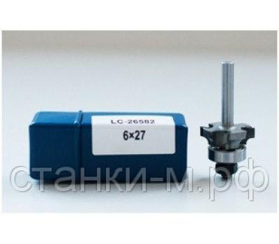 Фреза концевая для снятия свесов для AH703 6х27 R3