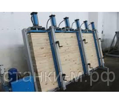 Пресс гидравлический для щита и бруса SL200-3GM