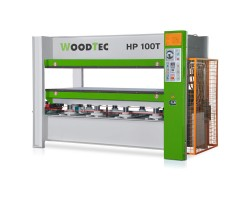 Пресс для горячего прессования WoodTec HP 100T