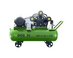 Поршневой компрессор WoodTec WT-C 4V 110L
