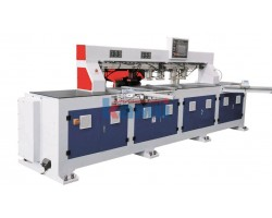 Автоматический шипорезный станок для изготовления рамочных фасадов GQmac. Модель Master Joint 2500A4