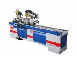 Заусовочный двухпильный станок для изготовления рамочных фасадов и багета AHC. Модель WM2-300D