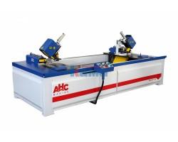 Заусовочный двухпильный станок для изготовления дверных коробок AHC. Модель WOODMASTER 400 EXPERT