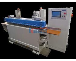 Шлифовальный станок для шлифования кромок проходного типа TOMO. Модель EDGE LINE S1W1