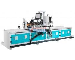 Автоматический фрезерный станок с ЧПУ для изготовления криволинейного багета GQmac. Модель Master Shape