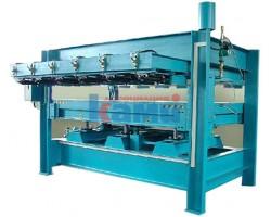 Гидравлический горячий пресс для изготовления и фанерования щитов Vario Press. Модель E25/13