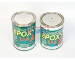 Клей-мастика EPOXY A+B густая эпоксидная