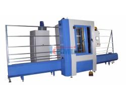 Автоматическая вертикальная установка для пескоструйной обработки стекла SCV System. Серия Kufra 2