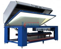 Универсальный мембранно-вакуумный пресс с узлом нагрева листовых материалов Istra-A. Модель TF-300HV