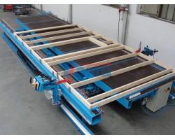 Монтажный стол для сборки каркаса домостроительных панелей MiTek. Модель MS-1