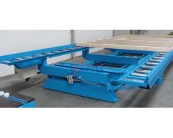 Обшивочный стол для домостроительных панелей MiTek. Модель SHT