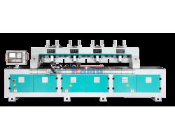 Обрабатывающий центр с ЧПУ для производства сборных филенчатых фасадов GQmac. Модель Fasade Master 2500