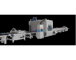 Автоматическая покрасочная линия методом распыления с участком сушки ЛКМ для красок на водной основе, ПУР, Акрила, Нитро и Поли-эфирных ЛКМ