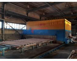 Линия для производства массивных домостроительных панелей MHM Б/У