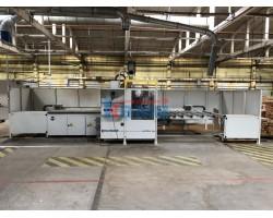 Гибкий обрабатывающий центр для сверления и фрезерования. Модель SCM Uniflex HP Б/У