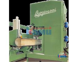 Вертикальные ленточные пилорамы Bongioanni. Модели TANDEM SNT 1400, SNT 1600