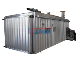 Камеры для термической обработки древесины при высокой температуре BIGonDRY. Модель LEM THW