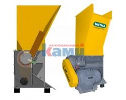Дробилка шредерная для измельчения древесных отходов UNTHA. Модель LR 520 (Австрия)