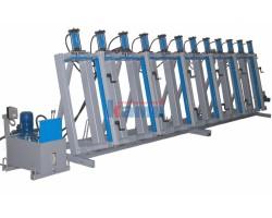 Прессы гидравлические для бруса SL150(200)-3GM, SL150(200)-4GM, SL150(200)-6GM