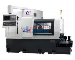 Автомат продольного точения с противошпинделем JINN FA. Модель JSL-42ABY