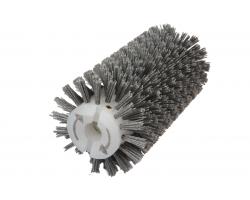 Брашировальная щетка валик Д130х250мм, ворс полимер абразив P80