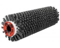 Брашировальная щетка валик Ø130х410 мм, ворс полимерно-абразивный P80 для JET JWDS-1632