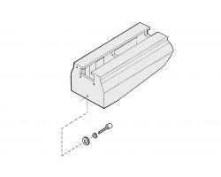 Удлинение станины станка 500 мм для JWL-1642 (JET Дисконт) - (Склад СПБ)
