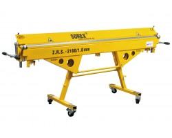 Ручной листогибочный станок SOREX ZRS - 2160/1,00
