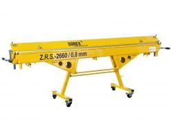 Ручной листогибочный станок SOREX ZRS - 2660/0,80